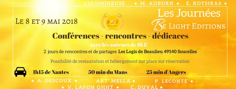 Les journees be light editions