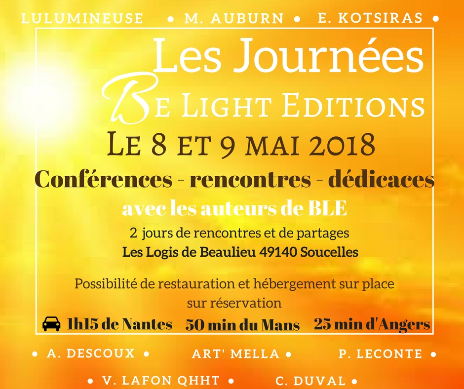 Les journees be light editions 3 1