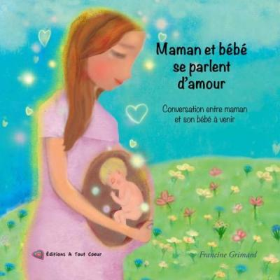 Maman et bébé se parlent d'amour